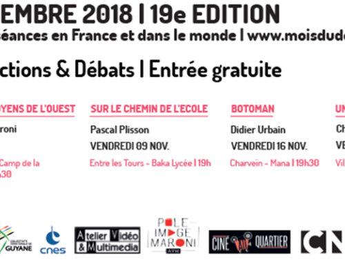"""Ciné au quartier spécial """"Mois du film documentaire"""" – 19e édition !"""
