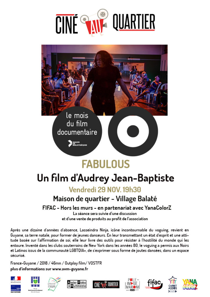 Fabulous pendant le Mois du documentaire 2019 - Saint-Laurent du Maroni