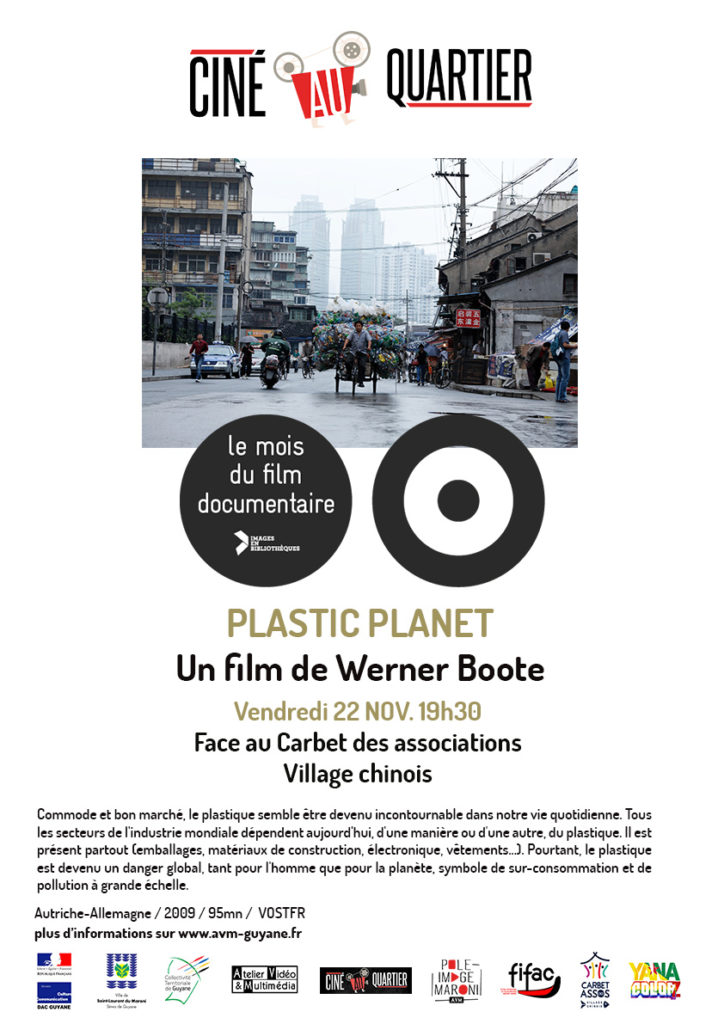 Plastic Planet pendant le Mois du documentaire 2019 - Saint-Laurent du Maroni