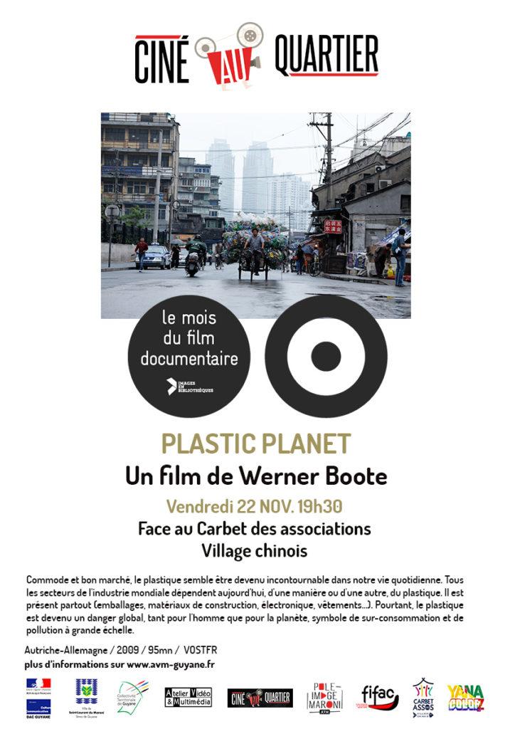 Plastic Planet pendant le Mois du documentaire 2019 - Saint-Laurent du Maroni