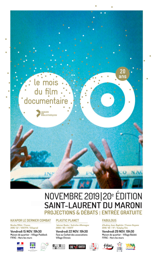 Programmation du Mois du documentaire 2019 - Saint-Laurent du Maroni