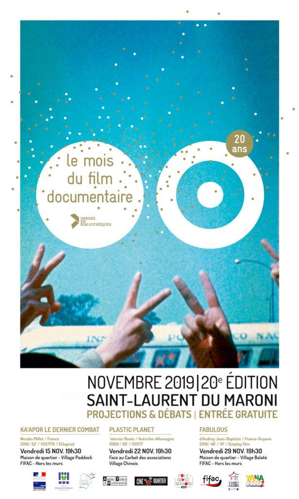 Programmation du Mois du documentaire 2019 - Saint-Laurent du Maroni